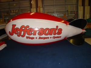best advertising blimps - 14 ft. blimp